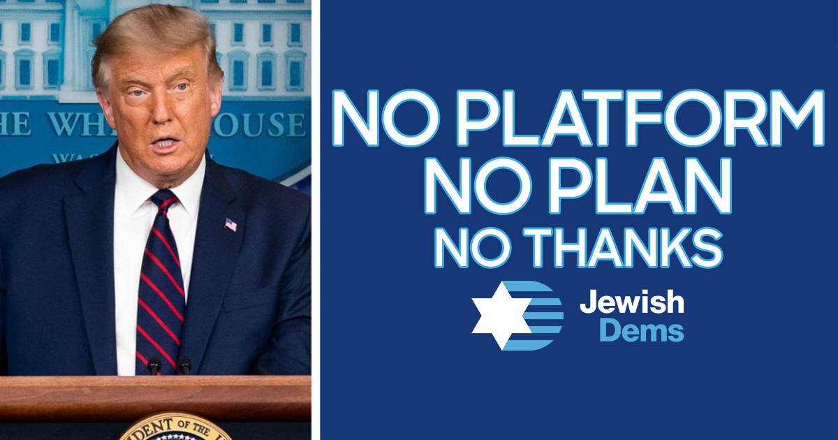 GOP Stands for Nothing But Trump - Jewish Democratic Council of America